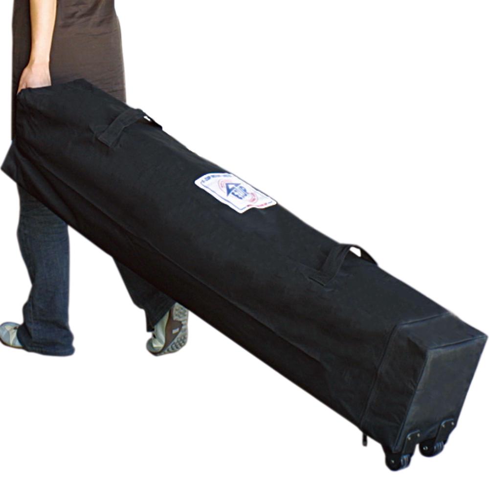 イベント用テントの持ち運びもかんたん安心!ローラーキャリーバッグ付属。