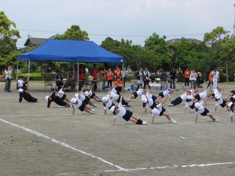 学校での運動会